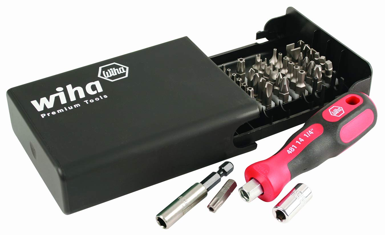 Wiha 71991 Bits Collector with Security Bits, 39 Piece Set by Wiha