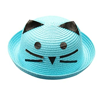 7a56269a777 Clearance 2018 Summer PeiZe Toddler Beanie Sun Protection Bowknot Outdoor  Fishing Hat Cap for Kids Girls