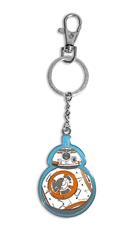 Llavero/Clip de bolso de metal Star Wars Episodio VII - BB-8 ...