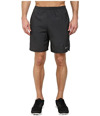 Men's Nike 7 Challenger Dry Running Short AnthraciteBlackReflective Silver