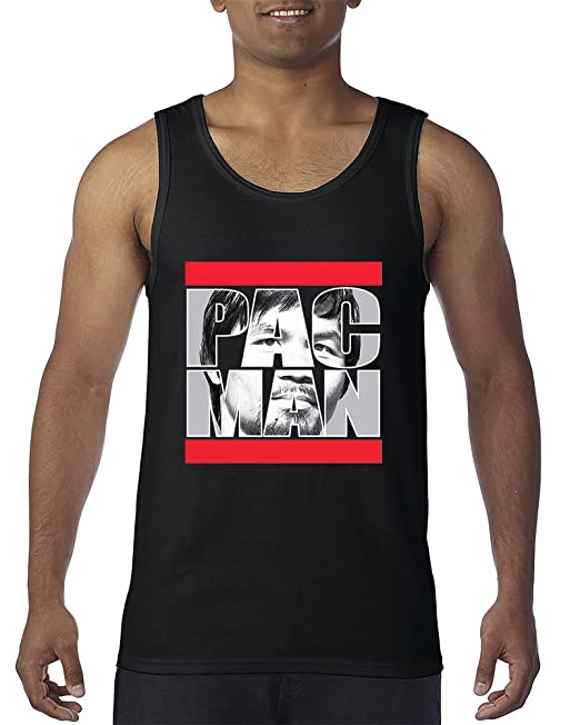 best sneakers 2d511 8ccec PAC Man Manny Pacquiao Fighter Boxing Men's Tank Top