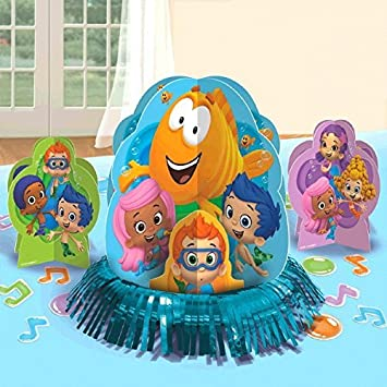 Amazon Com Bubble Guppies Party Table Decorations Kit