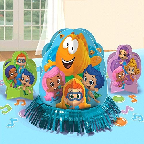 Bubble Guppies Party Table Decorations Kit ( Centerpiece Kit ) 23 PCS - Kids Birthday and Party Supplies Decoration by Bubble Guppies