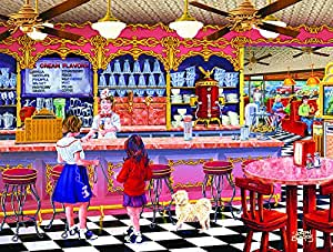 Ice Cream Parlor 300 pc Jigsaw Puzzle by SunsOut