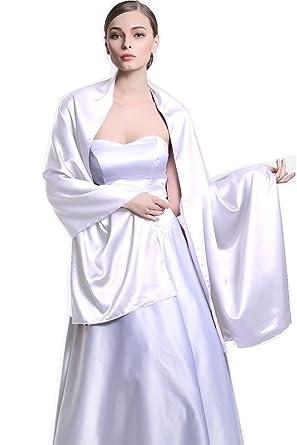 1d777ce2d154 BEAUTELICATE - Châle - Femme - Blanc - Taille unique  Amazon.fr ...