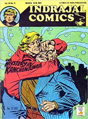 Ebook pdf-Download-Forum Indrajal Comics-454-Garth: The Mystery At
