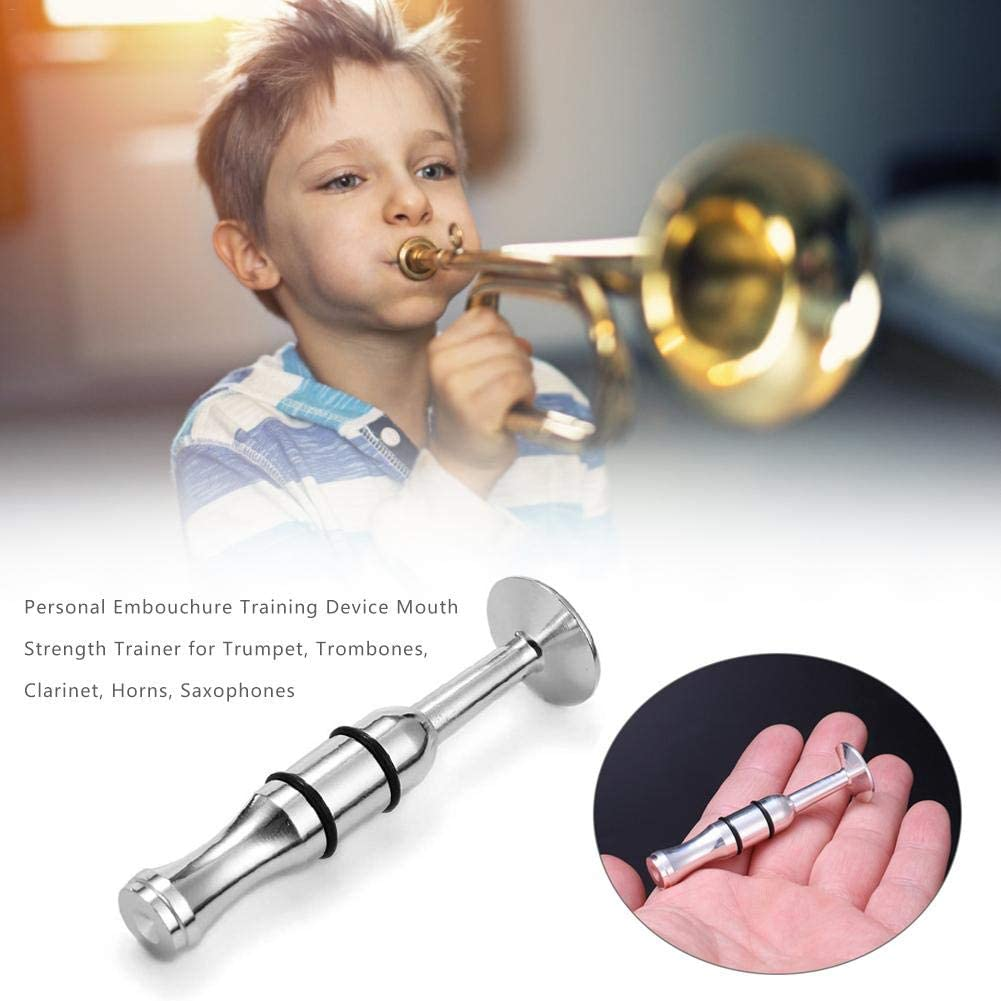 Saxophones Horns Clarinet Personal Embouchure Training Device Mouth Strength Trainer Lip Muscles Builder Training for Trumpet Trombones