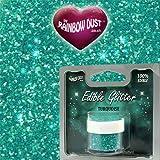 Rainbow Dust Edible Glitter - Turquoise 5g