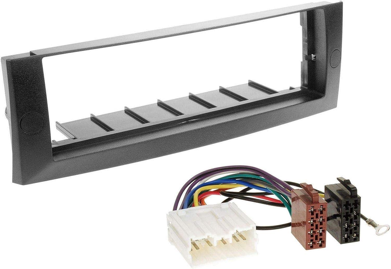2004-2008 caraudio24 Pioneer MVH-S100UB USB AUX MP3 1DIN Autoradio f/ür Mitsubishi Colt