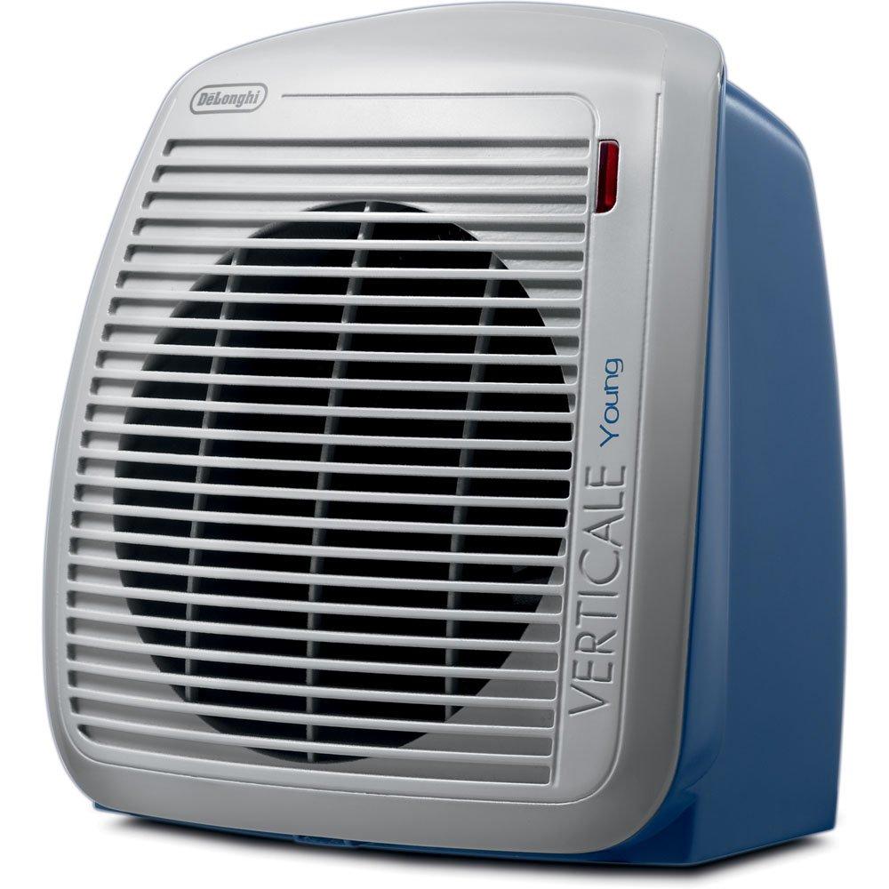 DeLonghi HVY1030BL 1500-Watt Fan Heater - Blue with Gray Face Plate
