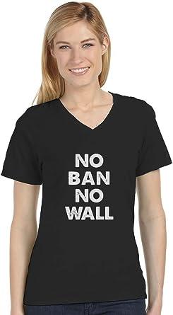 No Ban No Wall T shirts Kids Tees Tops Youth #Resist