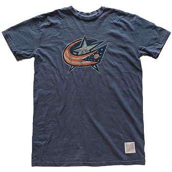 Columbus azul chaquetas Retro marca acero azul marino camiseta de manga corta Slub, hombre, azul: Amazon.es: Deportes y aire libre