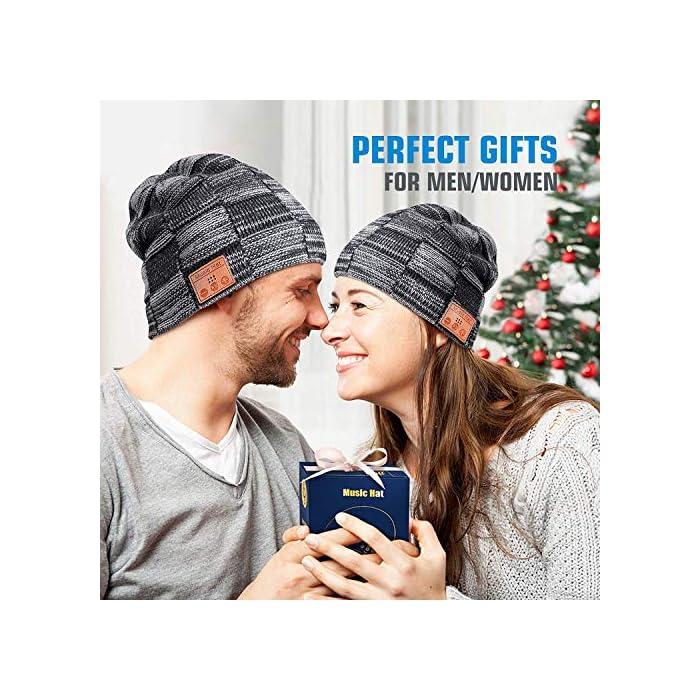 61KyqeWkH%2BL Haz clic aquí para comprobar si este producto es compatible con tu modelo Regalos de Música Perfectos para Hombre & Mujeres: El verdadero sonido de alta fidelidad HD produce una gran calidad de sonido, las gorras Bluetooth HANPURE son regalos perfectos para sus familias, amigos, niños, colegas, vecinos, socios de negocios en Navidad, Acción de Gracias, Año Nuevo, Día de San Valentín. El gorrito Bluetooth HANPURE con micrófono incorporado es adecuado para viajar durante las vacaciones, para deportes de interior y exterior como correr, caminar, esquiar, acampar, etc Chip de batería mejorado: Batería recargable de litio polimérico de 200mAh incorporada, el gorro Bluetooth HANPURE sólo necesita una carga de entre 1,5 y 2 horas, le da hasta 10-12 horas de tiempo de conversación/juego musical y más de 200 horas de tiempo de espera. Llevar un gorro Bluetooth HANPURE, es suficiente para alimentar tus entrenamientos con música durante una semana, o para hacer deportes al aire libre durante todo un día
