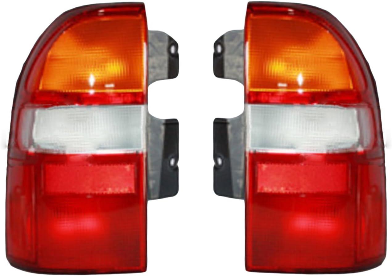 Red Rear Tail Lamp Fix Brake Light Lens Repair Tape for Honda Civic