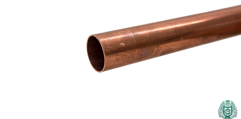 Kupferrohr 12x1mm Stange 2.0090 Aisi C11000 Heizung Trinkwasser 0.5 Meter