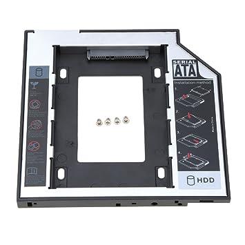 KKmoon &apos 9.5 mm universal 2 caja de disco duro SATA 2.5 HDD ...