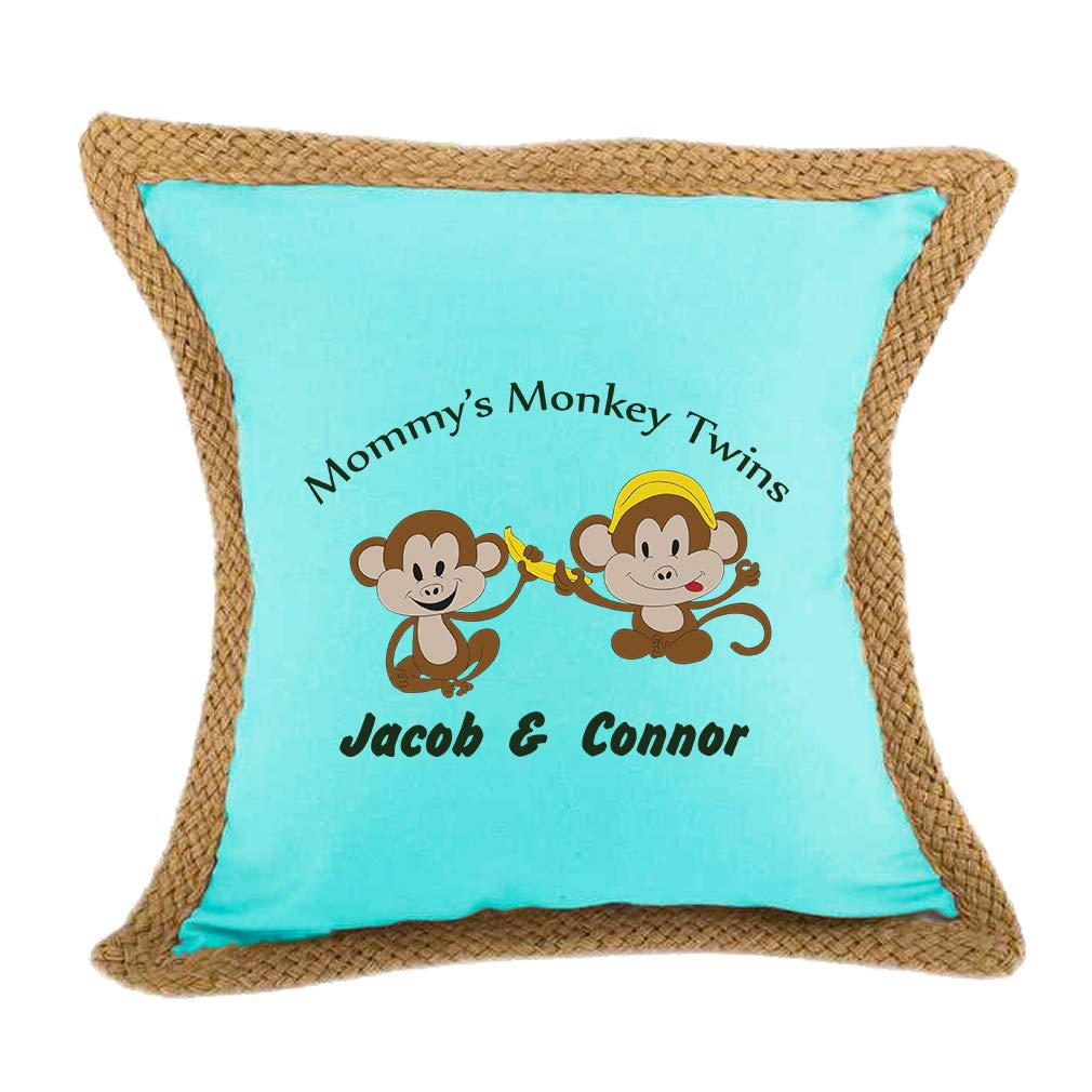 c4a70445e1a3 Amazon.com: Style In Print Personalized Custom Text Mommy's Monkey ...