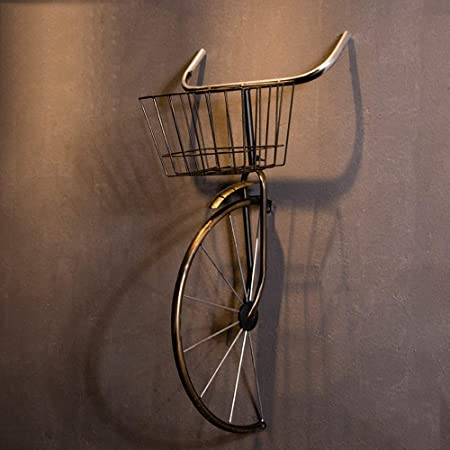 TSDS Colgante de Pared para Bicicleta, Adorno de Hierro Forjado ...