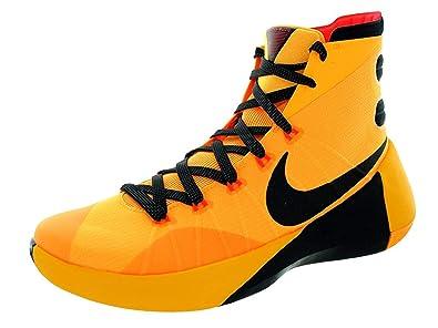 730fb152791d Nike Men s Hyperdunk 2015 Basketball Shoe Laser Orange Bright Crimson Black  Size 14 M