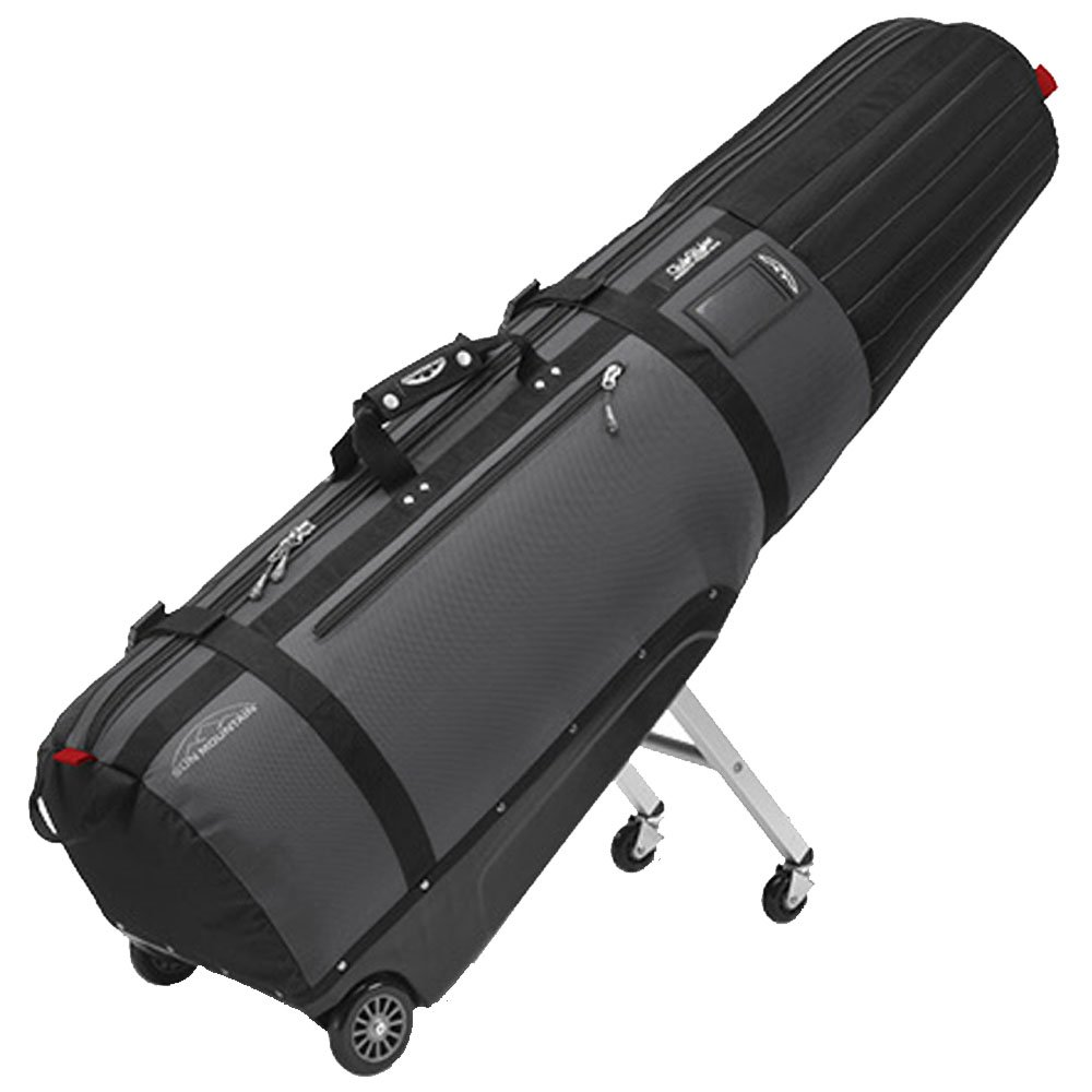 Sun Mountain Golf 2016 CLUBGLIDER MERIDIAN Travel Cover Bag - Black/Gunmetal by SUN MOUNTAIN SPORTS