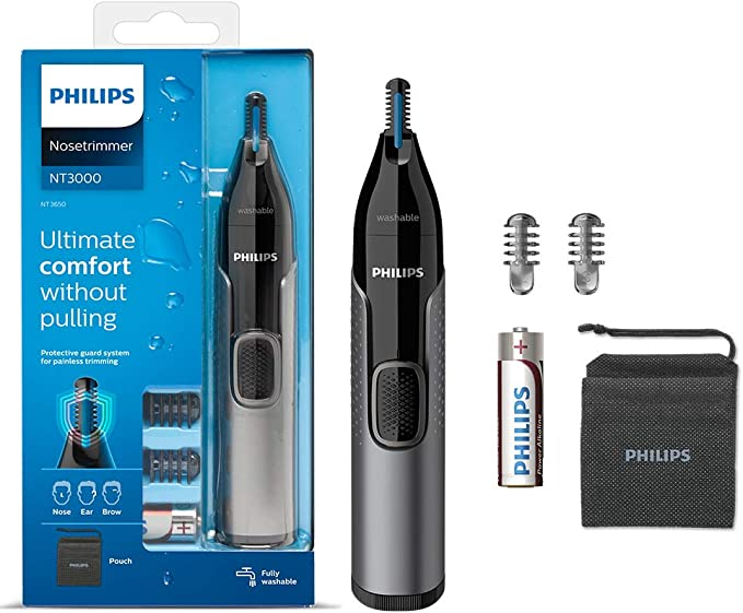 Philips Nose Hair Trimmer Series 3000 - Excellent Quality-per-Value Ratio