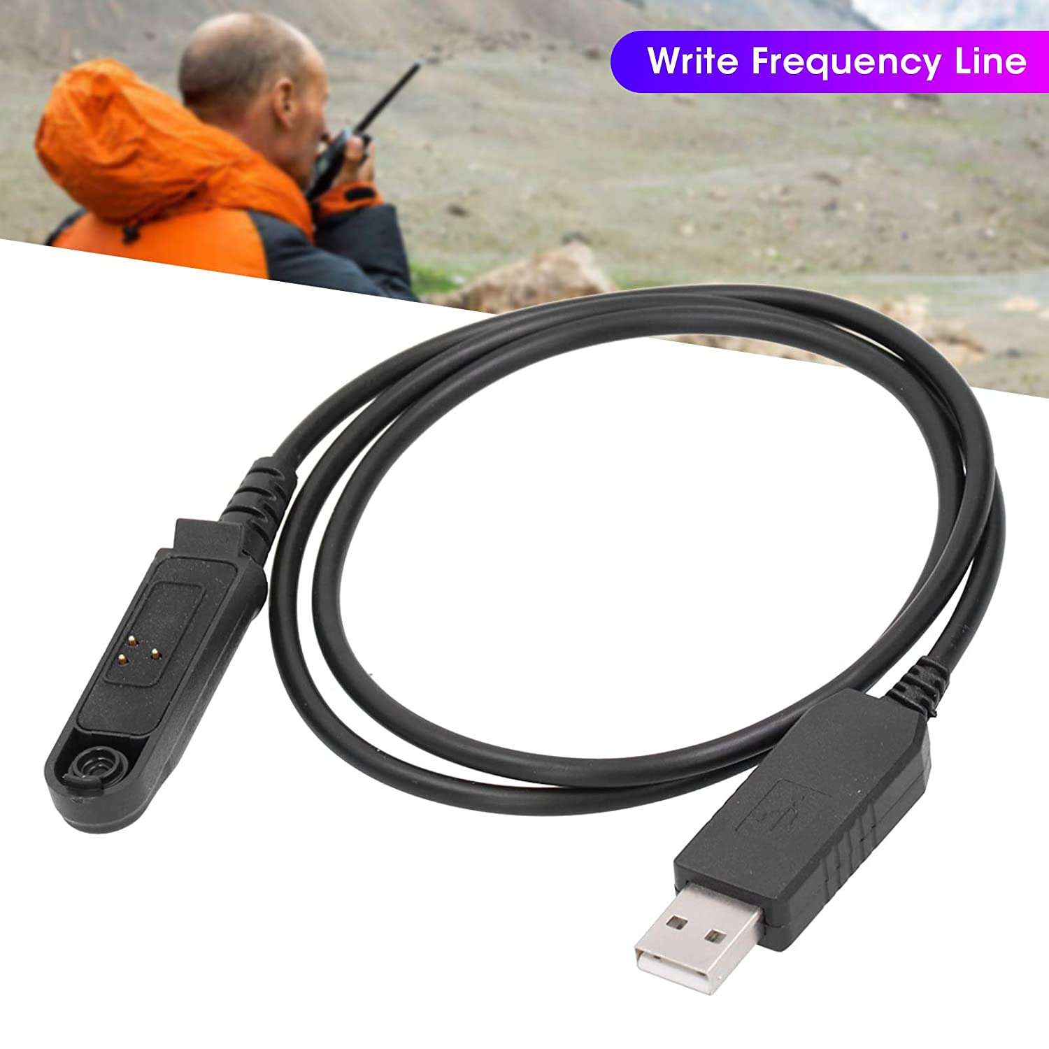 for two way radio interface. USB Programming Flexible Cable with FTDI chip sturdy and durable cable