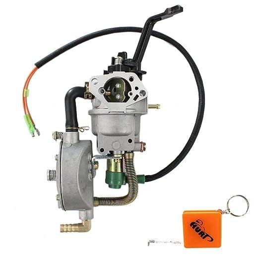 Huri GLP/NG KIT de conversión Dual carburador de combustible para ...