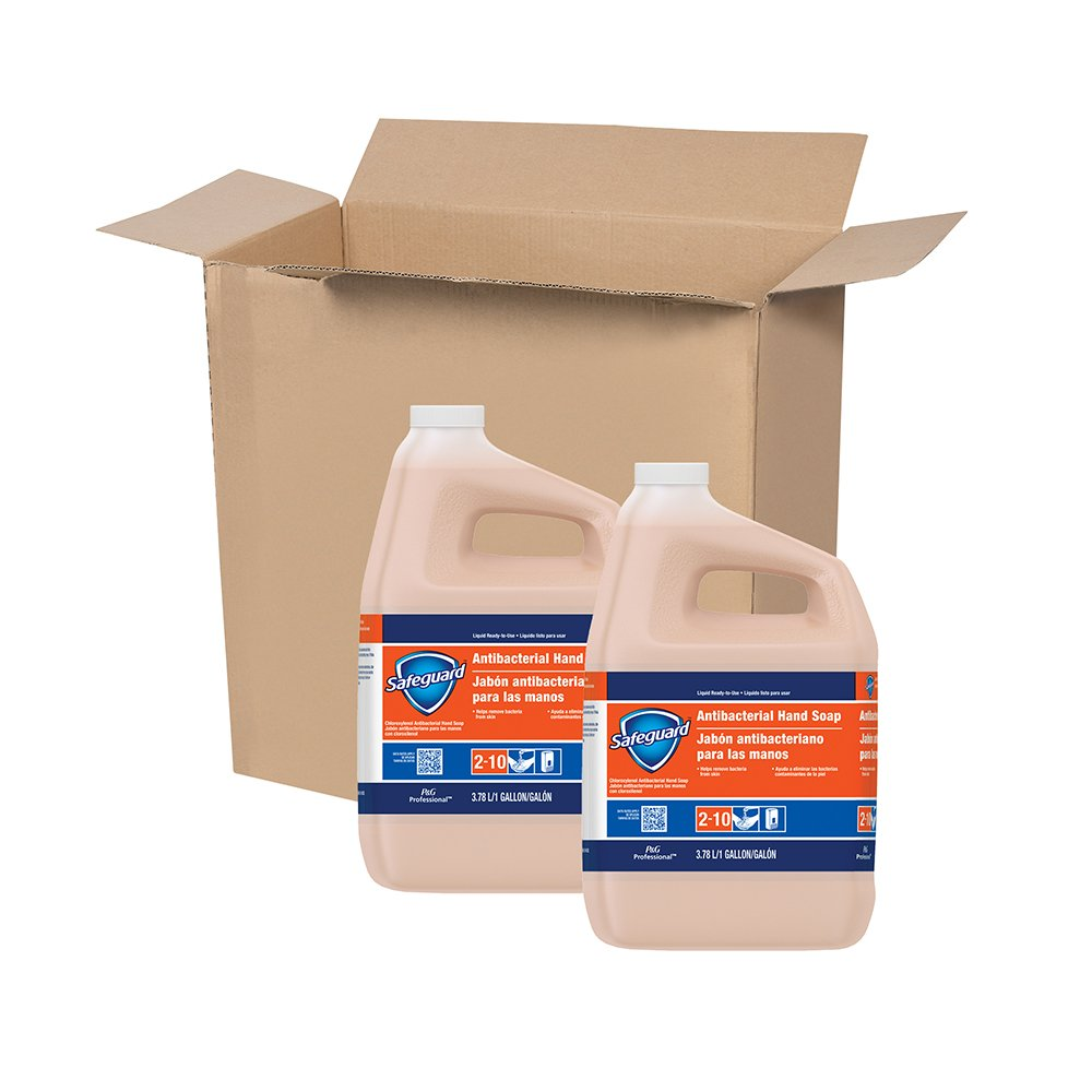 Antibacterial Hand Soap from Safegaurd Professional, Bulk Liquid Hand Soap Refill, 1 Gal. (Case of 2) by P&G Professional (Image #3)