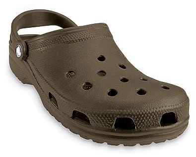 011213f5 Crocs Men's and Women's Classic Clog, Comfort Slip On Casual Water Shoe,  Lightweight,