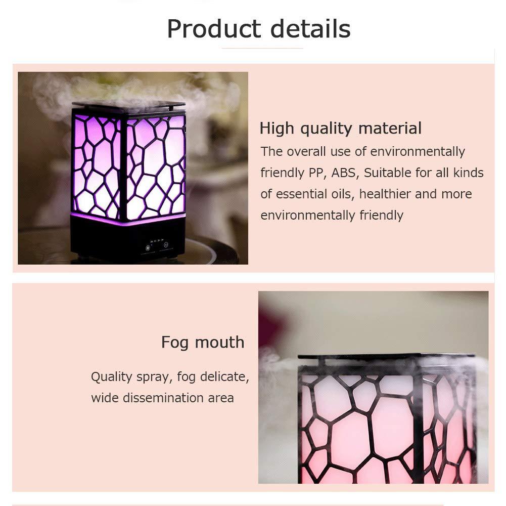Incense Burner Living Household Appliances Creative Hotel Bedroom Office Ultrasonic Silent Fragrance Lamp Mini Aromatherapy Machine Humidifier Nanayaya by Incense Burner (Image #8)