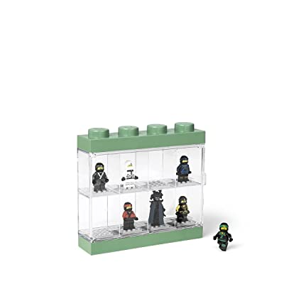 Room Copenhagen Ninjago Movie Case 8 Lego Minifigure Display 8, Small: Home & Kitchen