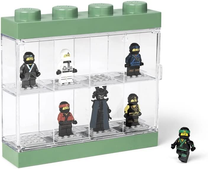 LEGO Ninjago Movie Case 8 Minifigure Display 8, Small