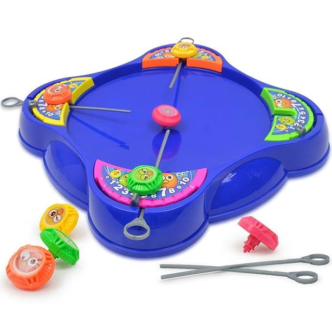 Niños Plástico Spinning Top Peg-Top Niños Kindergarten ...