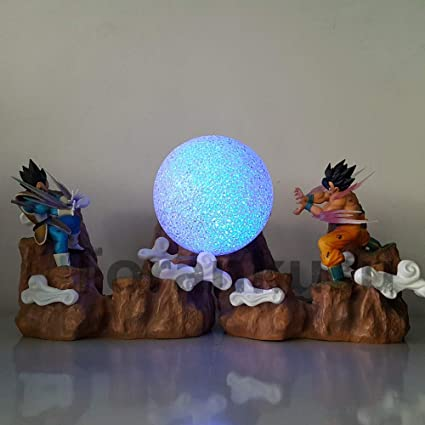 Amazon.com: Dragon Ball Z Goku vs Vegeta - Figura decorativa ...