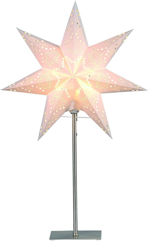 55 x 34 cm color crema aprox metal y papel cart/ón coloreado Best Season 234-22 Sensy Mini 55 L/ámpara de pie