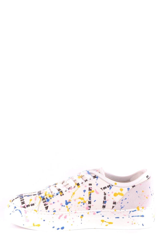Msgm Bianco Tessuto Donna Mcbi36015 Sneakers tCxdsrBhQo