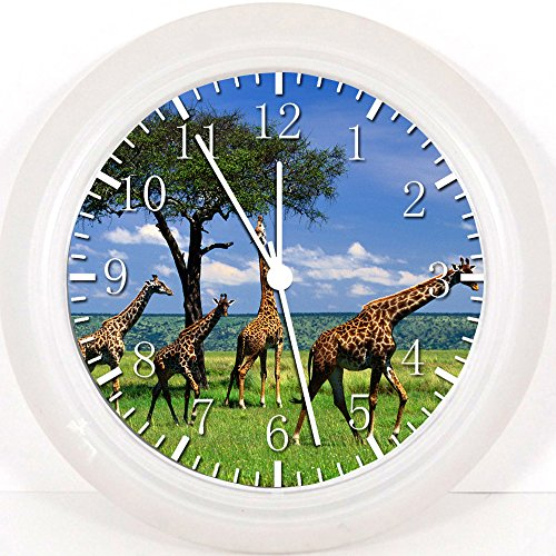 "Ikea New Africa Giraffe Wall Clock 10"" Will Be Nice Gift ..."