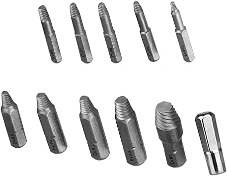 Screw Extractor Tool XOOL Screw Extractor Kit 22 Pieces with Magnetic Extension Bit Holder Socket Adapter for Broken Screw and Bolt Stripped with Magnetic Extension Bit Holder /& Socket Adapter