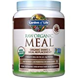 Garden of Life Raw Organic Meal Replacement Powder - Chocolate, 14 Servings, 20g Plant Based Protein Powder, Superfoods…