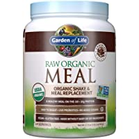 Garden of Life Meal Replacement Powder, 14 Servings, Organic Raw Plant Based Protein Powder, Vegan, Gluten-Free…