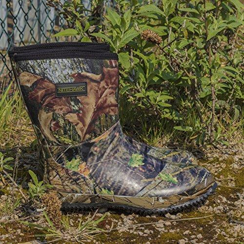 camouflage néoprène hautes Bottes mi en pour pluie la de pêche la chasse Nitehawk 7qIpp