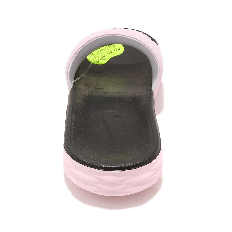 NIKE Women's Benassi Solarsoft Slide Sandal B074T8GFW1 5 B(M) US Arctic Pink/Black