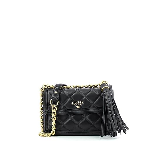 Guess HWSANDL7487 Bolso con bandolera Mujer Negro UNICA: Amazon.es: Zapatos y complementos