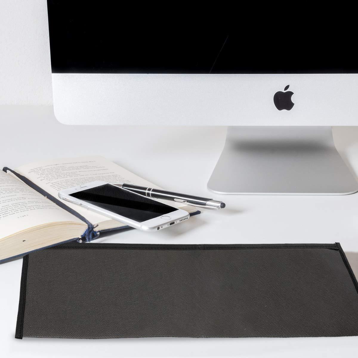 kwmobile Funda Protectora para Teclado Apple Magic Keyboard mit Ziffernblock Cubierta para el Polvo o derrames en Gris Oscuro