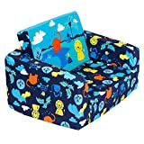 MallBest Kids Sofas Children's Sofa bed Baby's Upholstered Couch Sleepover chair Flipout Open