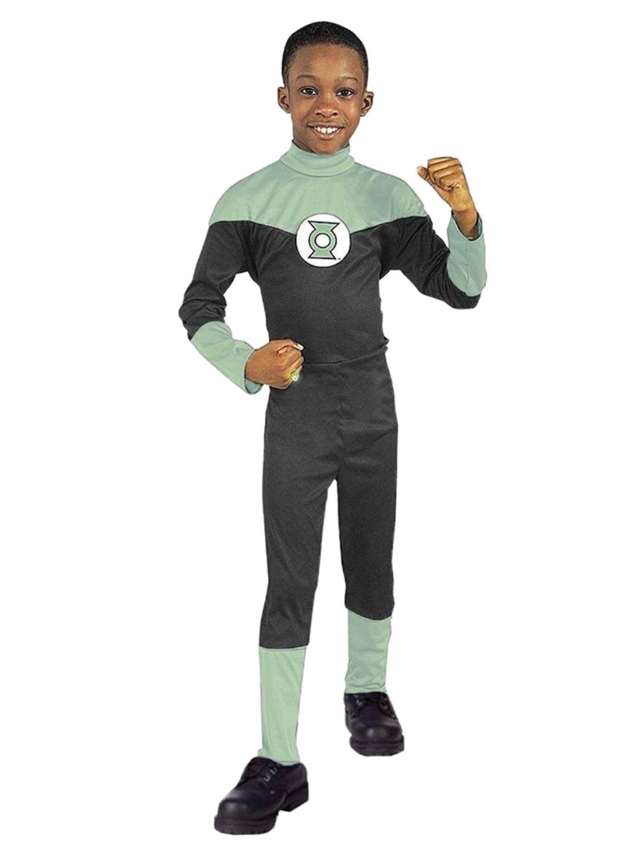 Justice League Green Lantern Hal Jordan Boy's Costume (SMALL)