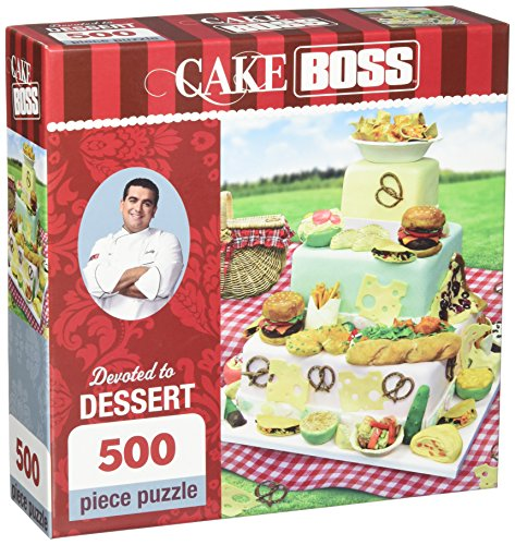 MasterPieces Cake Boss Devoted to Dessert Jigsaw Puzzle, 500-Piece