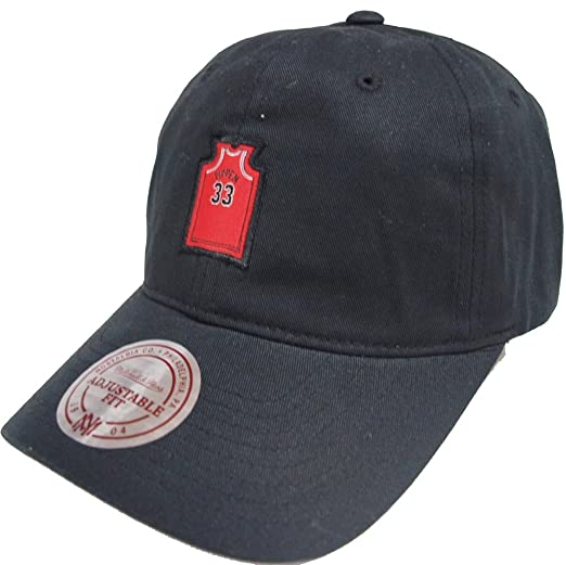 Mitchell   Ness NBA Chicago Bulls QD45Z Small Jersey Dad Hat ... 6994329666be