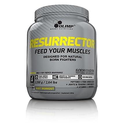Olimp Sport Nutrition ResurrectoR Post Entrenamiento, Sabor Tiramisú - 1200 gr
