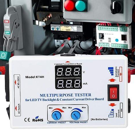 LED Test Repair, 330 V de carga ajustable corriente ABS TV LED retroiluminación corriente constante Junta prueba mantenimiento Instrumento Set: Amazon.es: Industria, empresas y ciencia